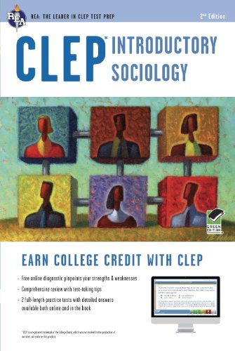 Clep Introductory Sociology W/Online Practice Tests:   2012 edition cover