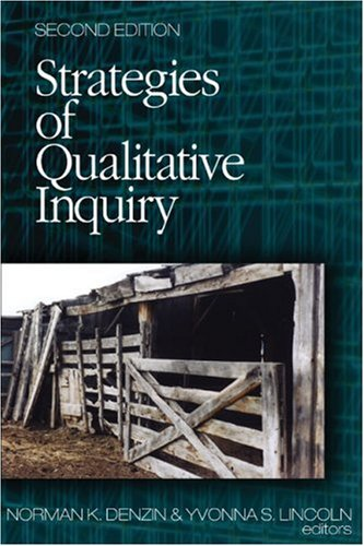 Strategies of Qualitative Inquiry  2nd 2003 (Revised) edition cover