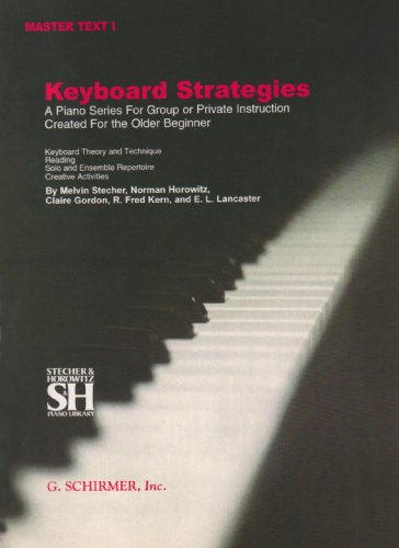 Master Text 1 - Chapters I-Xi Piano Technique N/A edition cover