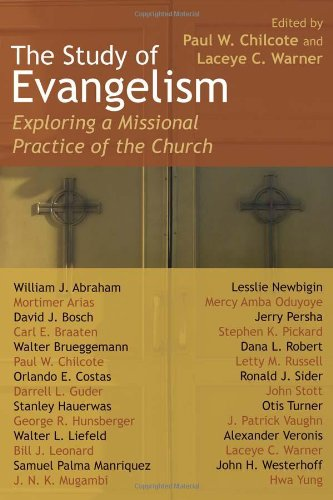 Study of Evangelism Exploring a Missional Practice of the Church  2008 edition cover