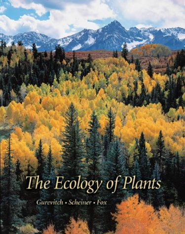 Ecology of Plants   2002 9780878932917 Front Cover