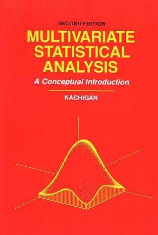 Multivariate Statistical Analysis A Conceptual Introduction 2nd 1986 edition cover