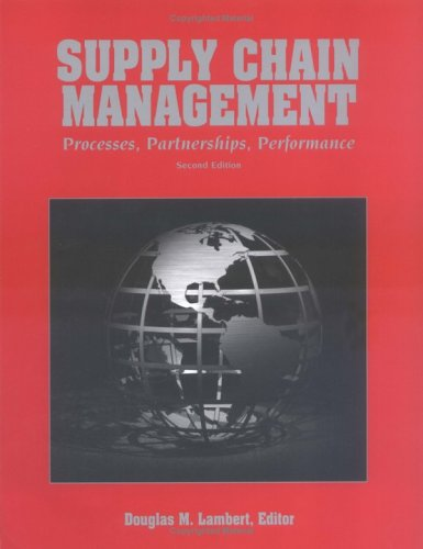 Supply Chain Management : Processes, Partnerships, Performance 2nd 2005 edition cover