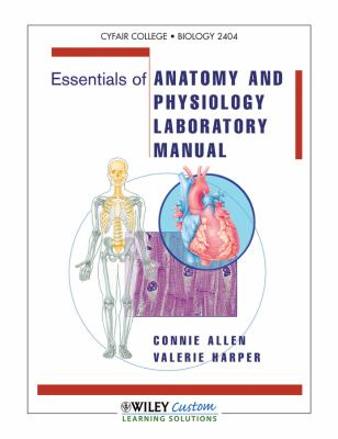 Essentials of Anatomy and Physiology Lab Manual  2011 9781118121917 Front Cover