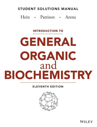 Introduction to General, Organic, and Biochemistry: Student Solutions Manual  2014 edition cover