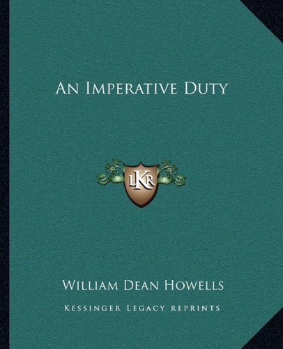 Imperative Duty  N/A 9781162652917 Front Cover