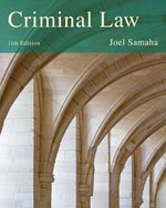 Criminal Law:   2013 9781285061917 Front Cover