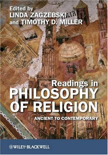 Readings in Philosophy of Religion Ancient to Contemporary  2009 edition cover