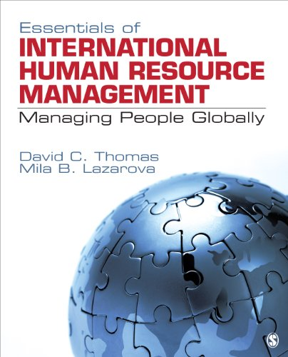 Essentials of International Human Resource Management Managing People Globally  2014 edition cover