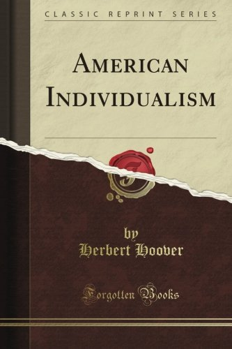 AMERICAN INDIVIDUALISM         N/A edition cover