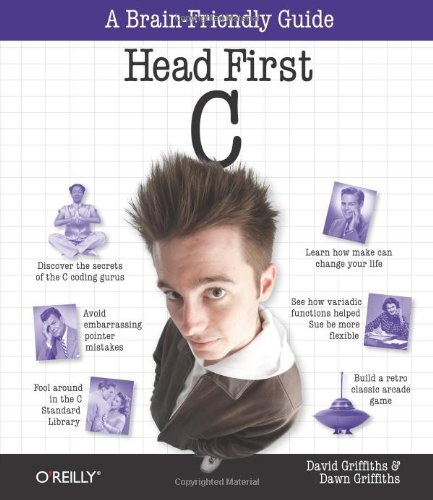 Head First C   2011 edition cover