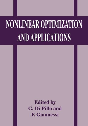 Nonlinear Optimization and Applications   1996 9781489902917 Front Cover