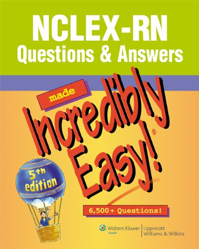 NCLEX-RN� Questions and Answers  5th 2010 (Revised) edition cover