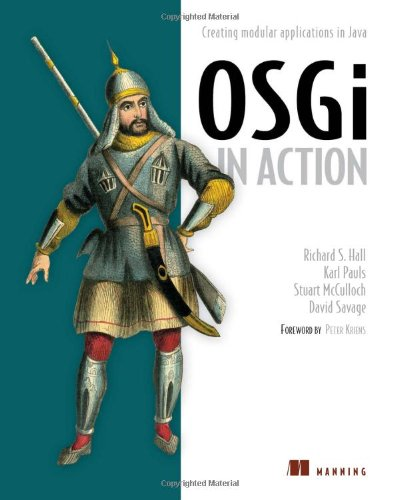 OSGi in Action Creating Modular Applications in Java  2010 9781933988917 Front Cover