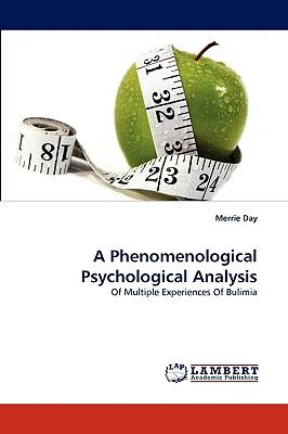Phenomenological Psychological Analysis N/A 9783838313917 Front Cover