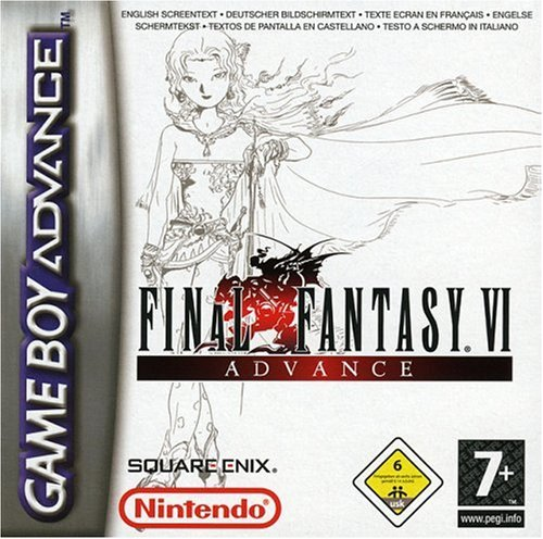 Final Fantasy VI Game Boy Advance artwork