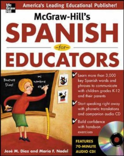 McGraw-Hill's Spanish for Educators   2007 edition cover