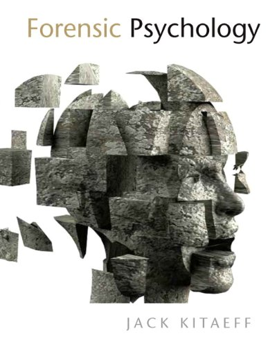 Forensic Psychology   2011 9780132352918 Front Cover