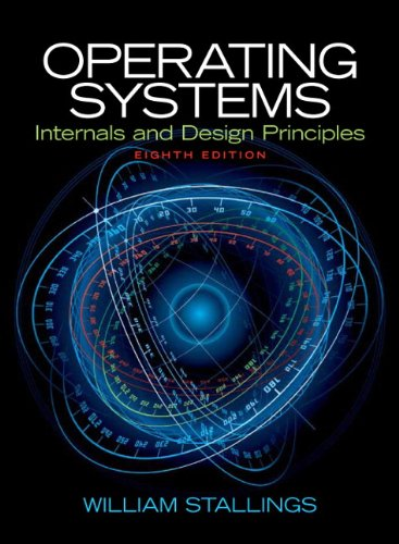 Operating Systems Internals and Design Principles 8th 2015 edition cover