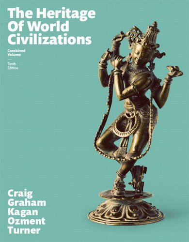 The Heritage of World Civilizations:   2015 edition cover
