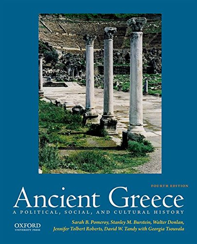 Ancient Greece A Political, Social, and Cultural History 4th 2017 9780190686918 Front Cover