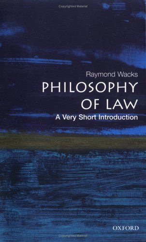 Philosophy of Law   2006 edition cover