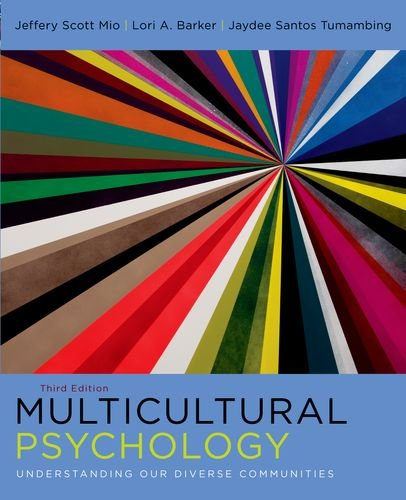 Multicultural Psychology Understanding Our Diverse Communities 3rd 2012 edition cover