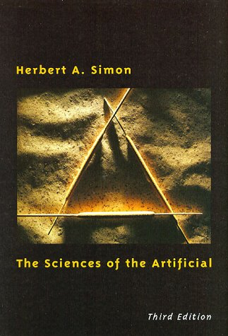 Sciences of the Artificial  3rd 1996 edition cover