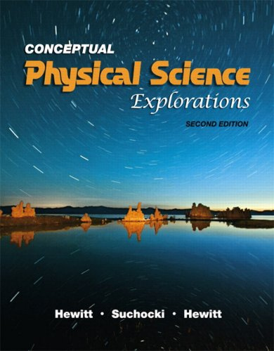 Conceptual Physical Science Explorations  2nd 2010 edition cover