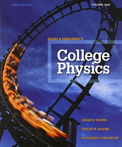 College Physics Volume 1 (Chs. 1-16)  10th 2016 edition cover