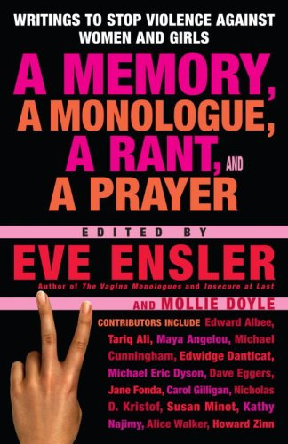 Memory, a Monologue, a Rant, and a Prayer   2007 edition cover