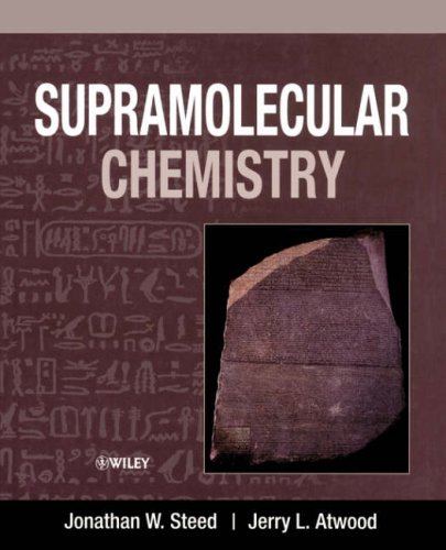 Supramolecular Chemistry   2001 9780471987918 Front Cover