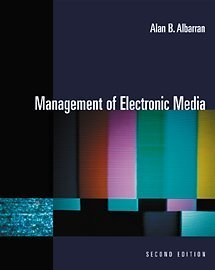 Management of Electronic Media  2nd 2002 9780534561918 Front Cover