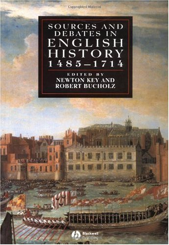 Sources and Debates in English History 1485-1714 2nd 2004 edition cover