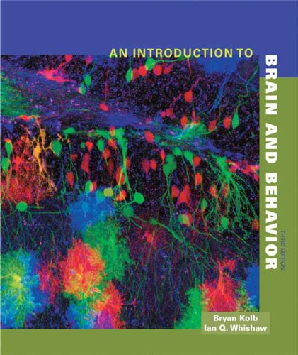Introduction to Brain and Behavior  3rd 2011 edition cover