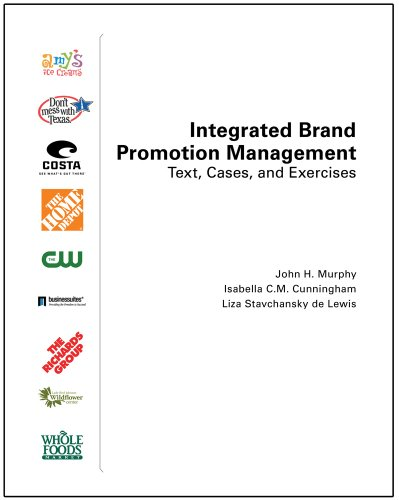 Integrated Brand Promotion Management Text Cases and Exercises Revised edition cover