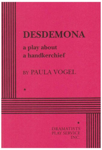 Desdemona A Play about a Handkerchief N/A edition cover