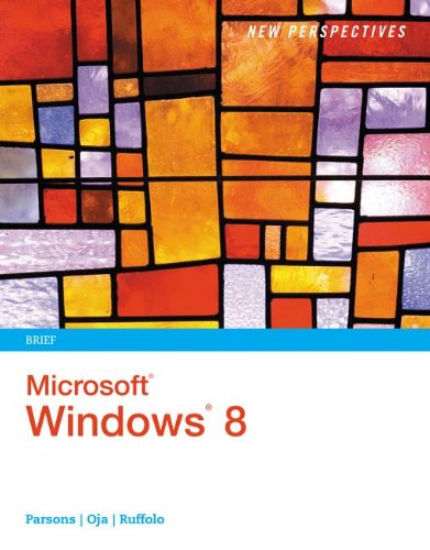 New Perspectives on Microsoft� Windows 8   2013 edition cover