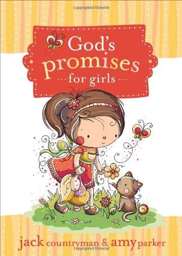 God's Promises for Girls   2010 9781400315918 Front Cover