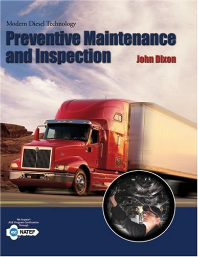 Modern Diesel Technology : Preventive Maintenance and Inspection   2010 9781418053918 Front Cover
