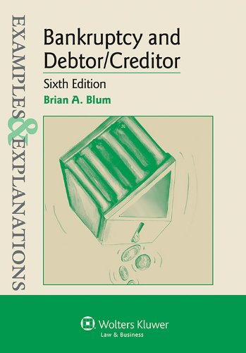 Bankruptcy and Debtor Creditor Examples and Explanations 6th (Student Manual, Study Guide, etc.) edition cover