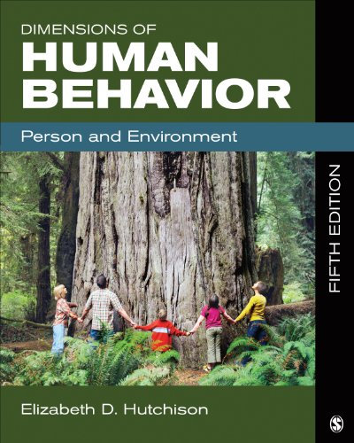 Dimensions of Human Behavior Person and Environment 5th 2015 edition cover