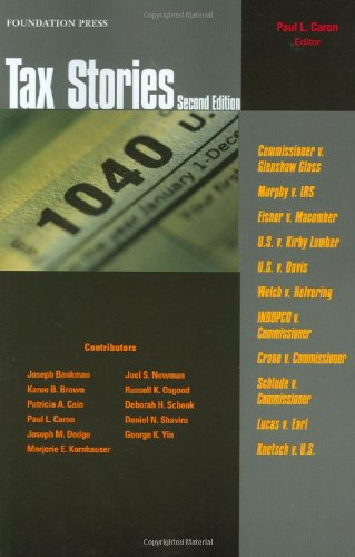 Tax Stories  2nd 2009 (Revised) edition cover