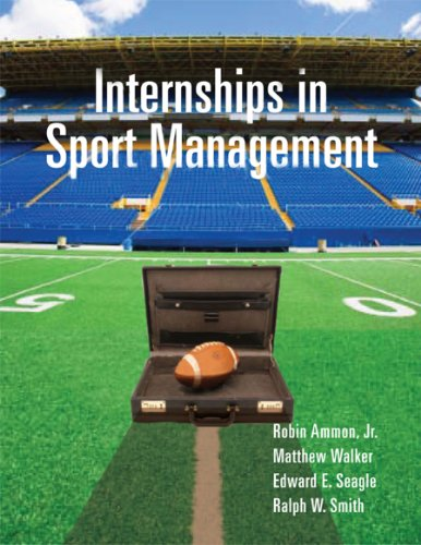 Internships in Sport Management   2010 edition cover