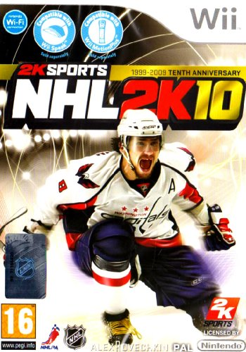 NHL 2K10 (Wii) Nintendo Wii artwork