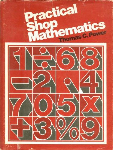 Practical Shop Mathematics 1st edition cover