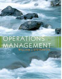 Operations Management  9th 2007 edition cover