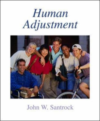 Human Adjustment   2006 9780073111919 Front Cover