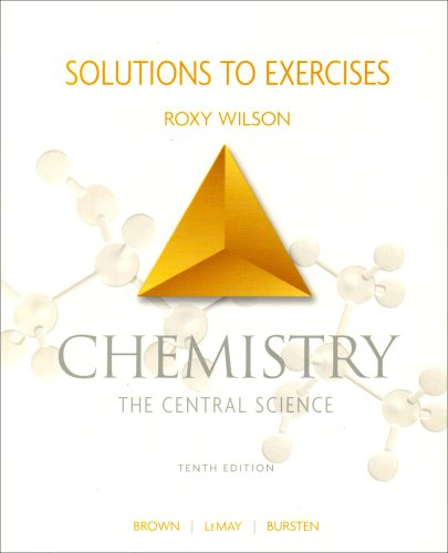 Chemistry The Central Science 10th 2006 (Student Manual, Study Guide, etc.) edition cover