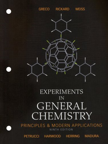 Experiments in General Chemistry  9th 2007 (Revised) edition cover